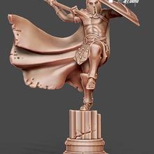 spartano ar us 35 mm scala tavolo antico fantasia figurina gioco greco mitologia carattere miniatura mitico spartano gioco tavolo tavolo gioco guerra oplita