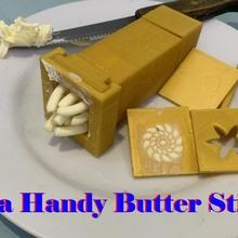 handy butter stick 3d printer diy 3d printing life hacks life hack butter stick butter case butter box butter pig