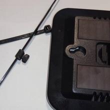 fecho eclair gravata PIN suporte openscad personalizador ziptie fecho eclair gravata