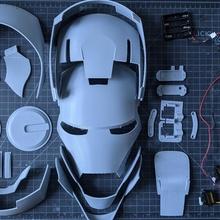 Eisen Helm artikuliert tragbar Ironman
