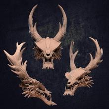 asiática Dragão crânio pré suportado loja osso ossos patrão chinês criatura Dragão masmorras épico cabeça japonês rpg crânio terreno caçadores talismã oriental asiática dnd apresentar epicmonster