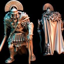 Zenturio Fuß Legion ix Spanisch verflucht Legion Moloch Tischplatte römisch Rom Untote Vampir Krieger Zombie Kommandant Gladius Legion Zenturio Offizier Zenturio