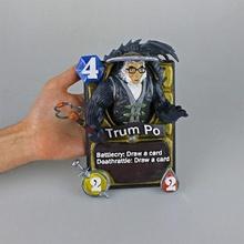 hearthstone card - trum po fan art card game blizzard hearthstone trumpo trum po pandaren hearthstone3d