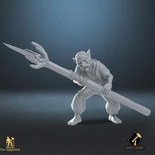 goblin lanceiro tampo mesa lutador goblin Guerreiro vilão dnd emboscada caverna