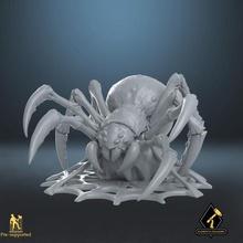 gigante aranha rede tampo mesa patrão gigante Horror monstro rpg aranha dnd emboscada caverna