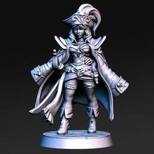 maridy femelle moine 32mm dnd table femelle pirate marteau guerre femme dnd rnestudio