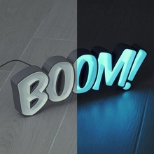 guidato tendone boom guidato lettere luce boom striscia neon luminoso cartello