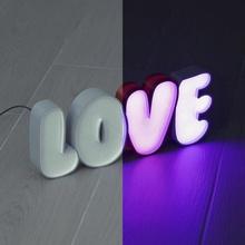 guidato tendone amore guidato lettere luce amore striscia neon luminoso cartello