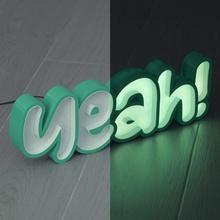 guidato tendone si guidato lettere luce striscia neon luminoso cartello si