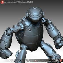 demir kaplumbağa minyatür Demir Adam masaüstü tmnt mutant Demir Siber