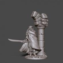 duende Vampiro ol 35mm escala tampo mesa duende fantasia estatueta personagem miniatura jogo tabuleiro tampo mesa jogo guerra Vampiro dnd aenur