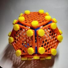 dodecaedro rompecabezas pelota pentágono rompecabezas juguete dodecaedro