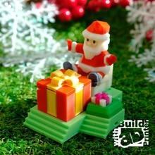 Natale giocattolo Natale decorazione ornamento santa giocattolo Babbo Natale arredamento santa claus Holliday