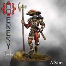 heresylab ax012 kurt garde capitaine table Mordheim marteau guerre fantaisie heresylab axia bande guerre guerrier donjon aventuriers dragons