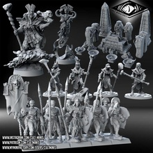 mummy army pack store army dragons egypt epic fantasy mummy statue tomb undead props miniature lord animated tabletop kings wargame pack dnd sorcerer regiment