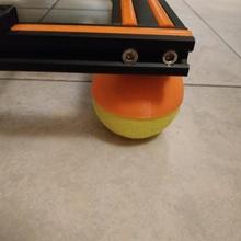 tennis palla montare vibrazione ammortizzatore piedi rete 3d stampante parti vibrazione inumidimento 3d stampato parti 3d stampante aggiornamento tennis palla vibrazione ammortizzatore rete e16 rete e12
