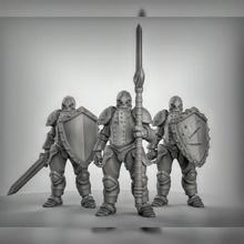 forgiato combattenti 3 multi arma opzioni giocattoli Giochi combattente golem robot rpg Dungeons and Dragons dnd esploratore giochi tavolo forgiato