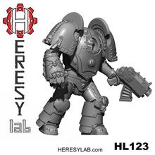 heresylab - hl123 - hk1 kronos armored knight tabletop 40k armor warhammer terminator mk1 heresylab