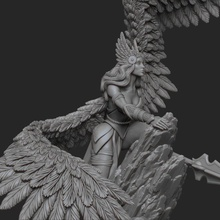 valkyrie tabletop figurine miniatures wings figures angel norse gods valkyrie gorl