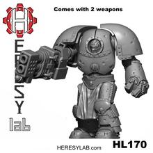 heresylab - hk1 armor hephaestus 1 tabletop 40k robot warhammer terminator mk1 30k heresylab