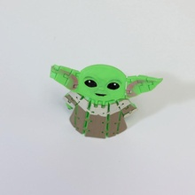 esnek mafsallı bebek Yoda çocuk mandaloryalı Yıldız Savaşları oyuncak esnek mafsallı esnek mandaloryalı Sandaloryalı çocuk Bobyyoda