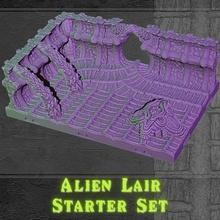 alieno tana antipasto impostato alieno modulare terreno zerg prigione piastrelle insetti xenomorfo tileset ripley xeno morso drago dragonlock