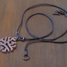 intrépido fibra colgante pendiente diferencial crecimiento Moda accesorios joyería joya procesal matemáticas Arte
