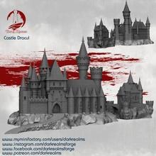 castillo diablo juguetes juegos edificio terreno vampiro dracula castillo dnd strahd
