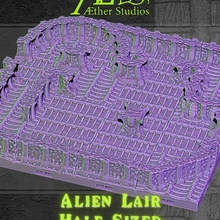 alieno tana dimensioni alieno modulare terreno piastrella predatore openlock xenomorfo tileset ripley morso drago dragonlock dungeonlock