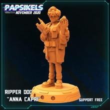 estripador doc anna capri brinquedos jogos médico cyberpunk estripador cibernética doc
