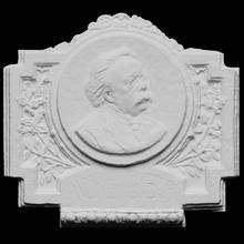 andrea costa scan 3d sculpture bronze italy relief mason photogrammetry 3d-printing feminist anarchist socialist openglam andrea-costa dozza piazza-andrea-costa