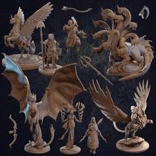 espinhoso cauda espinhosa caçador pacote pré suportado brinquedos jogos patrão Dragão dragões masmorras épico grego mini monstro romano personagem miniatura gladiador caçadores pégaso dnd oráculo assassino