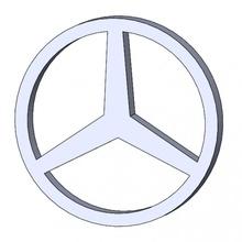 mercedes logo ventilateur art logo mercedes simbolo coche