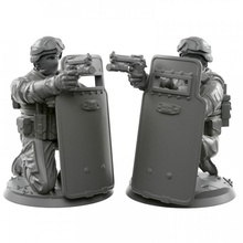 007 shield toys & games army modern pistol shield soldier warhammer miniature tabletop infantry 28mm wh40k 32mm