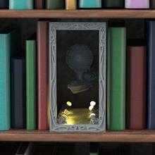 zeplin hangar anime kitap kitap ayracı ışıklar punk gemi Steampunk hava buhar fantastik kütüphane hangar zeplin senaryo manzara Laputa önceden desteklenen sinek hava direği
