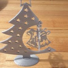 Harry çömlekçi Hogwarts tepe Noel önemsiz Bahçe Noel dekorasyon kolay süs güzel Noel Hogwarts Harrypotter Navidad Noel Harry çömlekçi destekler