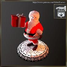 Babbo Natale regalo giardino Natale santa nicolas noel nikolas