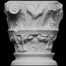 columna s pedro s Pablo abadía escanear arquitectura gorra Francia 3dprintable capital