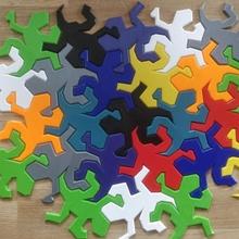 mc escher lizzards giocattoli Giochi puzzle escher lizzards