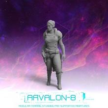 Arvalon 8 équipages équipage 2 1 capitaine 39 hara jouets Jeux futur miniatures rpg sci stargrave starfinder arvalon8