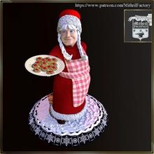 Babbo Natale moglie giocattoli Giochi Natale santa inverno noel evento hollidays
