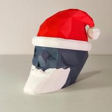 santa cervello interruttore Natale cappello cervelli gioco puzzle santa cranio barba Babbo Natale