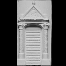 puerta Montal castillo escanear puerta Francia 3dprintable