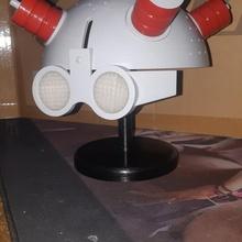 rick morty - ricks helmet stand stand helm morty rick rick morty - ricks helmet