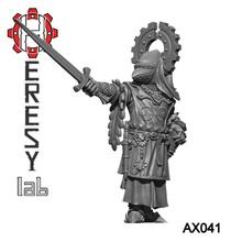 heresylab - ax041 eagle knight 2 helmets toys & games knight dragons dungeons fantasy warhammer warrior d&d adventurer mordheim warband heresylab axia