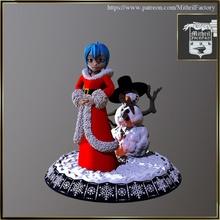 stella claus Spielzeuge Spiele Weihnachten Mädchen Manga Santa Winter Schnee Noel