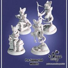 mousefolk Vampiro pré suportado dragões masmorras miniatura rato tampo mesa Vampiro dnd ladrao mousefolk