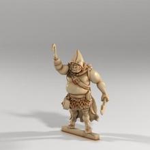 orc voyou slasher capitaine donjons main crochet chef rpg épée personnage dague rôle jouant table jeu guerre capuche 53 1e osr