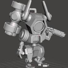 a1-ex chibi robot chibi warforge