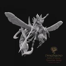Tyverian vespida empaleur capitaine Erianna dragonbond jeu guerre boutique impression fantaisie chef miniature jeu guerre